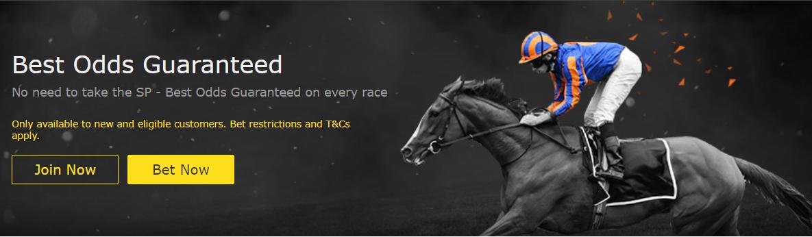 Bet365 Best Odds Guaranteed Horse Racing