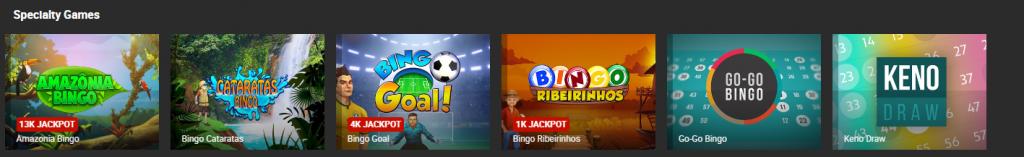 Bingo and Keno at Bodog