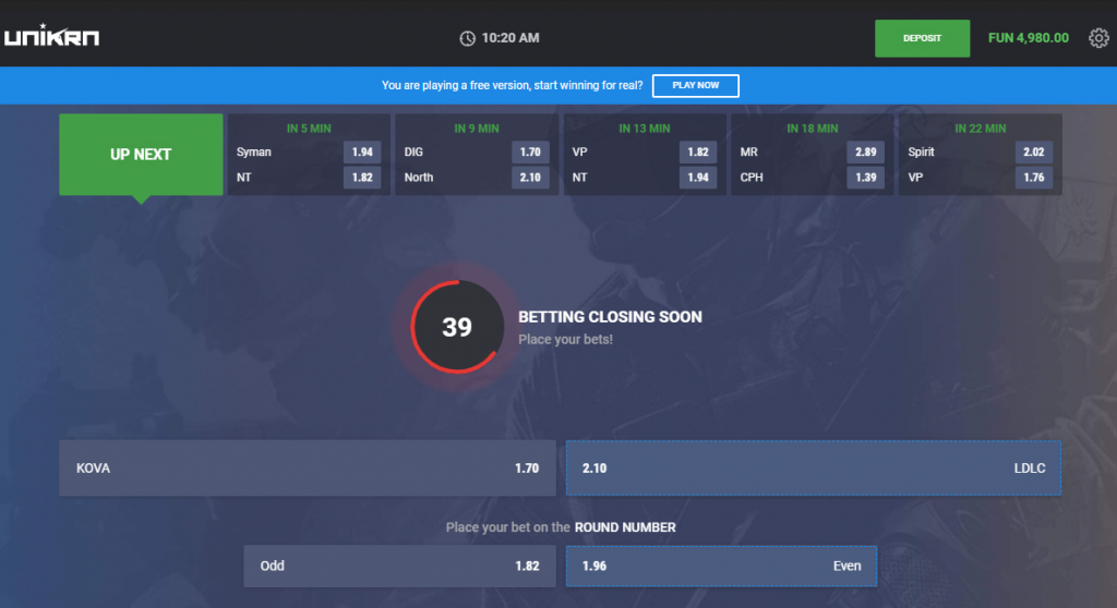 Bet99 Virtual eSports