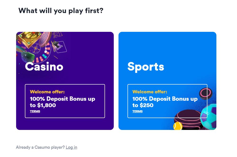 Casumo Casino and Sports