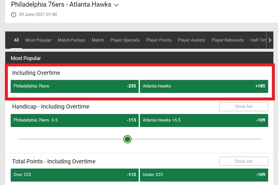 Philadelphia 76ers vs. Atlanta Hawks