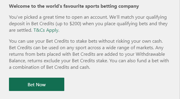 Bet365 Welcome Email