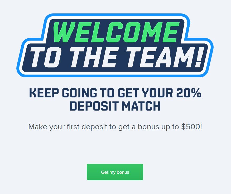 fanduel sign up bonus