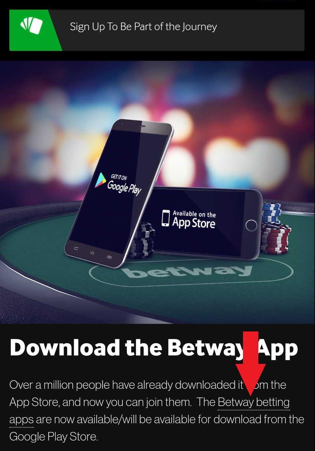 How to download Betway app