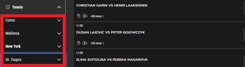 proline number of events
