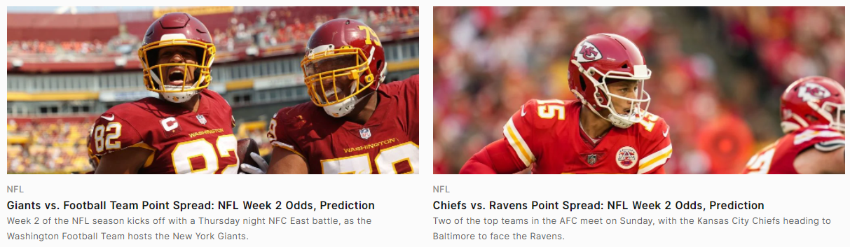 Sports Interaction NFL insights