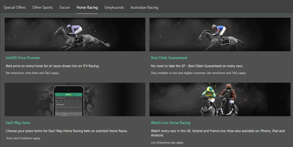 bet365 horse betting promotions